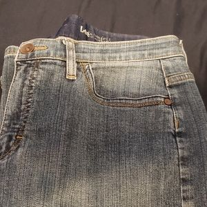 Lee Jean's, Button Back pocket, 12P, Stone Washed